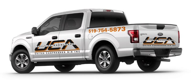 UCA Truck Logo
