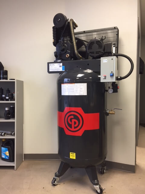 Chicago Pneumatic Reciprocating / Piston Air Compressor (RCP-C583VS5)