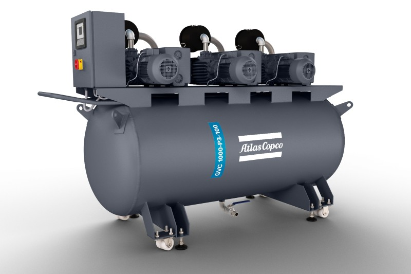 Small Vacuum Systems with oil-sealed vane pumps